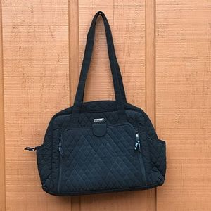 Vera Bradley Quilted Diaper Bag Animal Print Lined